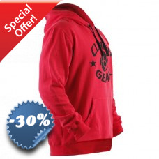 Clinch Gear - Icon Pullover (Red)