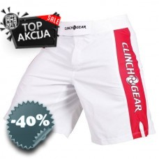Clinch Gear - Pro Series Short (White/Black/Red)