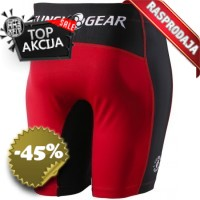 Clinch Gear - Compression Shorts  (Red-Black)