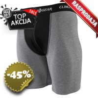 Clinch Gear - Compression Brief With Pouch (Grey)