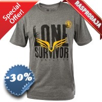 Clinch Gear - Lone Survivor Tee (Grey)