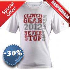 Clinch Gear - Never Stop Tee (White)