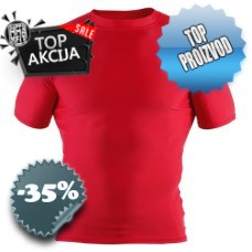 Clinch Gear - Short Sleeve Rashguard - Red, Black)