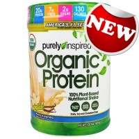 Muscletech - Organic Protein Purely Inspired (33% free bonus)