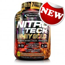 Muscletech - Nitro-Tech 100% Whey Gold (2,5kg) - 10% FREE