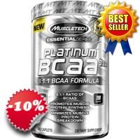 Muscletech - Platinum BCAA 8:1:1 (200 caps)