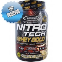 Muscletech - Nitro-Tech 100% Whey Gold (1,1kg) - 10% FREE