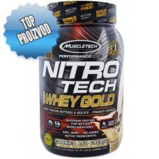 Muscletech - Nitro-Tech 100% Whey Gold (1,1kg) - 10% FREE