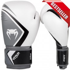 Venum - Boxing Gloves Contender 2.0 - White/Grey-Black