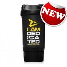"Dedicated Nutrition - ""I am dedicated"" Shaker"