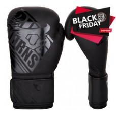 "Ringhorns - ""Nitro"" Boxing Gloves - Black/Black"