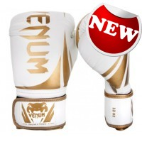 "Venum - ""Challenger 2.0"" Boxing Gloves - White/Gold"