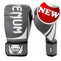 "Venum - ""Challenger 2.0"" Boxing Gloves - Grey/White-Black"