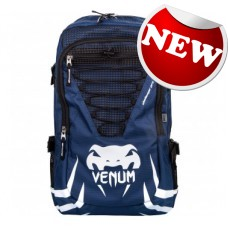 "Venum - ""Challenger Pro"" Backpack - (Navy Blue/White)"