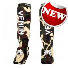 "Venum - ""Kontact Shinguards"" - Forest Camo (New)"