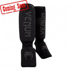 "Venum- ""Kontact Shinguards""-Black/Black"