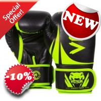 "Venum - ""Challenger 2.0 Boxing Gloves"" - (Neo Yellow/Black)"