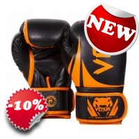 "Venum - ""Challenger 2.0 Boxing Gloves"" - (Neo Orange/Black)"