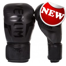 "Venum - ""Elite"" Boxing Gloves - (Neo Matte/Black)"