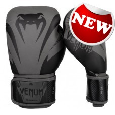 "Venum - ""Impact Boxing Gloves"" - (Grey/Black)"