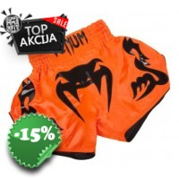 "Venum - ""Bangkok Inferno"" Muay Thai Shorts - Neo Orange"