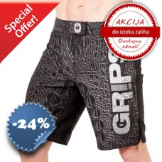 Grips - Fight Shorts Croco Black
