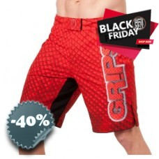 Grips - Fight Shorts Dragon Red