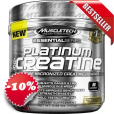 Muscletech - Platinum Creatine 300+100g free