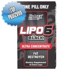 Nutrex - Lipo6 Black Ultra Concentrate (60 caps)