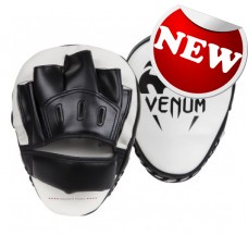 "Venum - ""Light"" Focus Mitts - Ice/Black (Mini)"