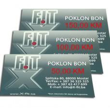 X-Fit - Poklon Bonovi (50,100,150km)